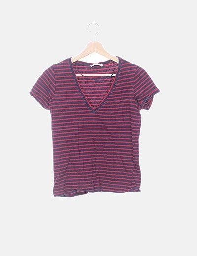 Camiseta marinera de rayas
