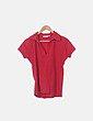 Polo rojo manga corta C&A