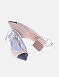 Zapato bicolor destalonado Zara