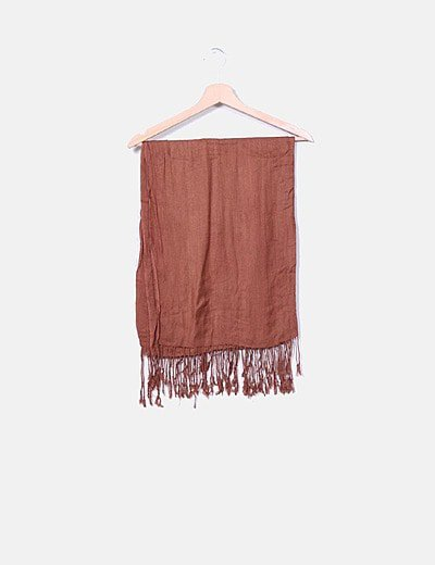 Foulard marrón