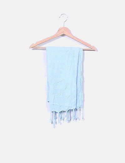 Foulard azul cielo