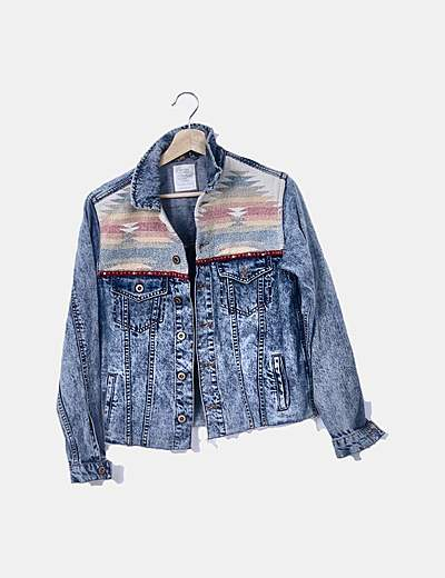 Giacca di jeans Bershka