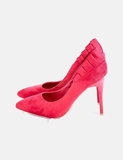 Zapatos scarpines rojos
