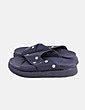 Sandalia negra tachas estrellas NoName