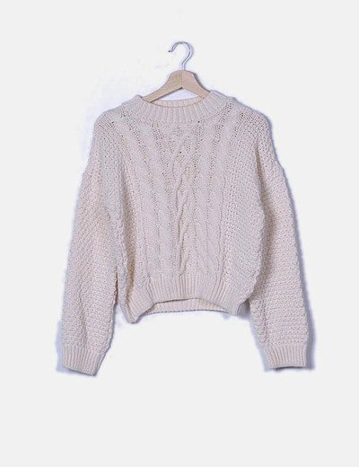 Jersey beige tricot