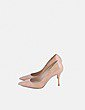 Zapatos salones charol camel Massimo Dutti