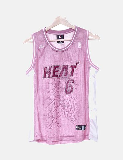 Camisa rosa de basket