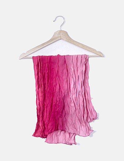 Foulard degradado rosa