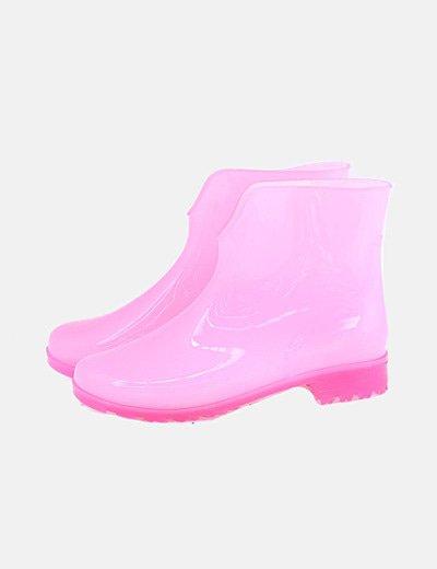 Botines de agua rosas