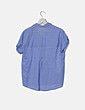 Camisa azul raya Sfera