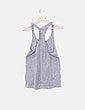 Conjunto de pijama azul marino y gris Shana