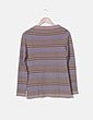 Jersey tricot de rayas Tintoretto