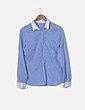 Camisa azul clara Zara