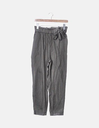Pantalón fluido verde