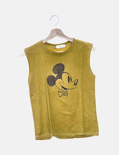 Camiseta mostaza Mickey M.