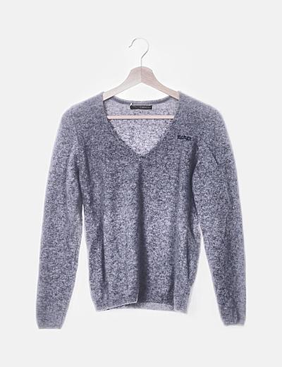 Jersey gris cashmere