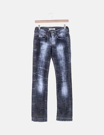 Pantalón azul denim