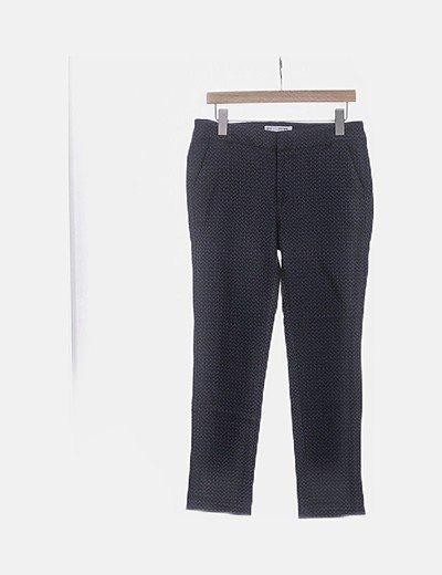 Pantalón chino bicolor