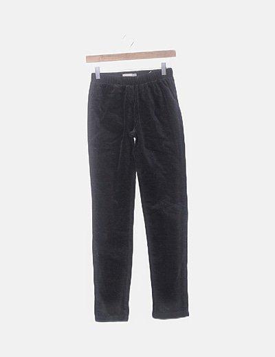 Pantalón azul marino terciopelo