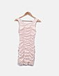 Vestido rosa engomado H&M