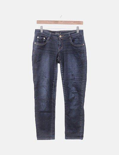 Jeans denim azul