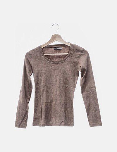 Camiseta color arena