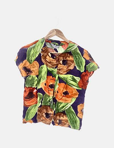 Camisa estampado multicolor
