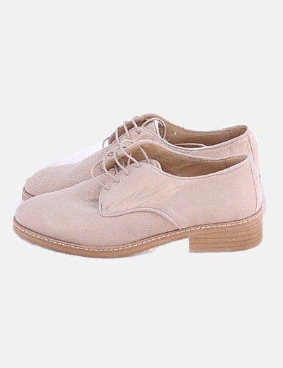 Zapato blucher glitter