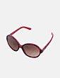 Gafas de sol redondas pasta roja Dolce & Gabbana