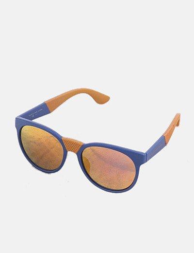 Gafas de sol pasta bicolor cristal polarizado