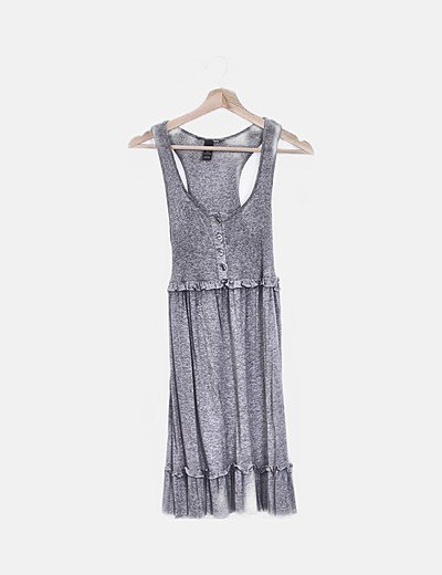 Vestido de alças H&M