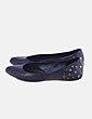 Zapatos bailarinas negras con tachas Alexander McQueen