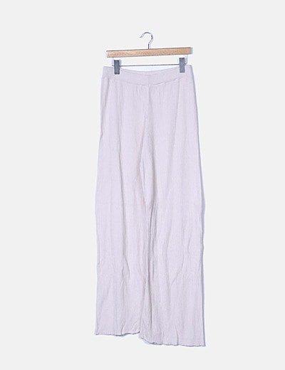 Pantalón canalé crudo