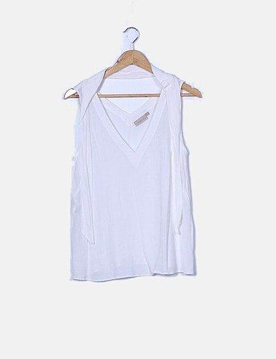 Blusa blanca de tirantes