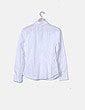 Camisa manga larga blanca con fruncido Hugo Boss
