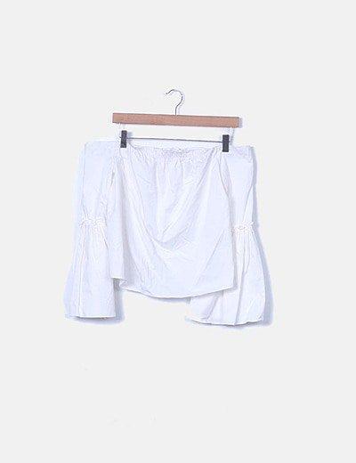 Camisa blanca palabra de honor