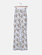 Jeans florales high waist campana BDG