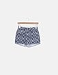 Shorts denim estampado azul marino Lefties