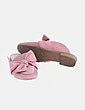 Zapato destalonado rosa con lazo Primark