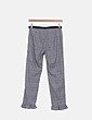 Pantalón pitillo de cuadros Zara