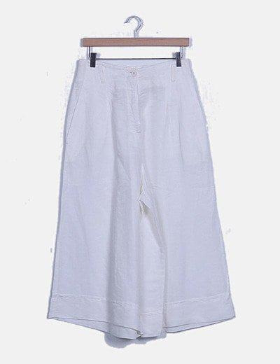 Pantalón palazzo blanco
