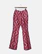 Pantalón rojo jaspeado Pedro del Hierro
