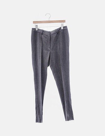 Pantalón chino gris oscuro