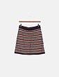 Falda tricot multicolor Zara