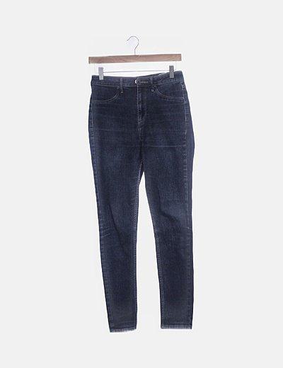 Jeans denim azul skinny