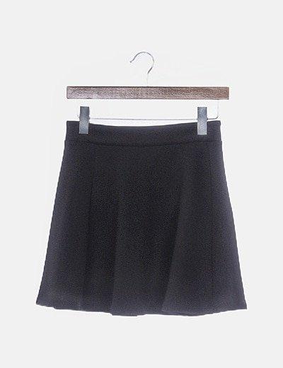 Falda negra neopreno