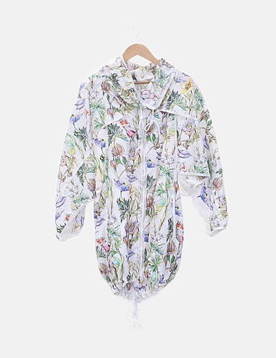 Parka ligera floral by Stella MCcartney