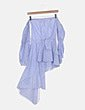 Blusa de rayas asimétrica Sahoco