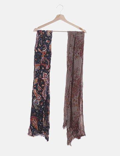 Conjunto dos foulard print