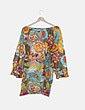 Blusa multicolor con pailettes CALDOTTI